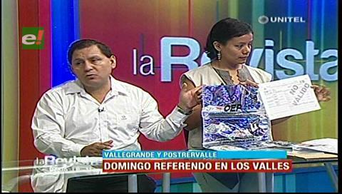 Cartas orgánicas: Referéndum se realizará el 9 de julio en Vallegrande y Postrervalle