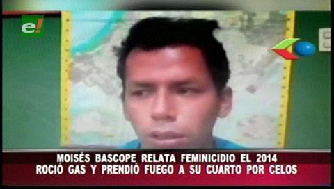 Moisés Bascopé confiesa como asesinó a Verónica Menacho