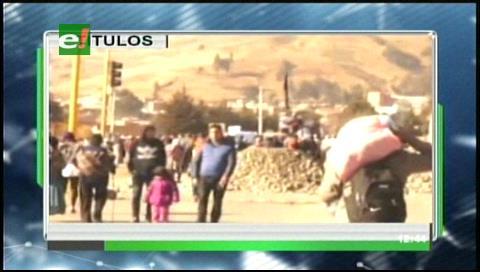 Video titulares de noticias de TV – Bolivia, mediodía del jueves 20 de julio de 2017