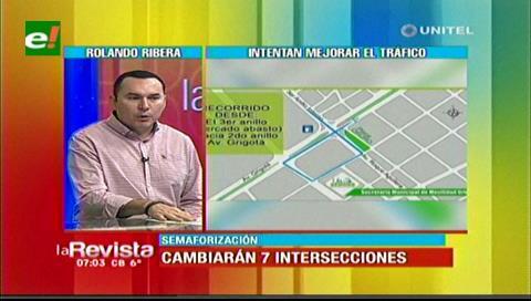 Alcaldía cruceña explica los cambios en las siete intersecciones de la ciudad