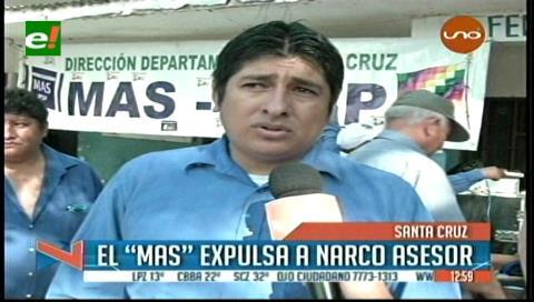 El MAS en Santa Cruz expulsa a Romer Gutiérrez de sus filas