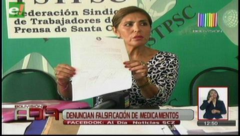 Empresa denuncia falsificación de medicamentos