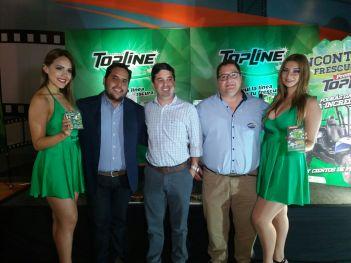 Brenda Balcazar, Emiliano Llorente, Pablo Candano, Luis Esteban Queirolo y Flavia Murillo