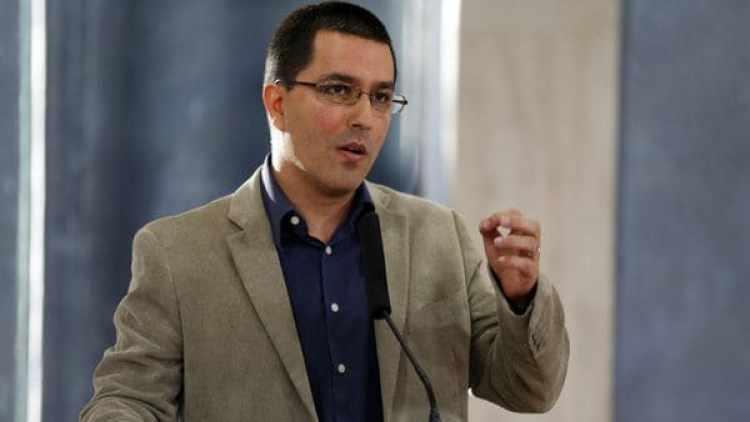 Jorge Arreaza, nuevo canciller venezolano.