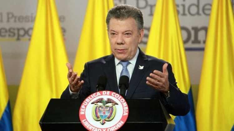 Juan Manuel Santos criticó la Constituyente de Nicolás Maduro (EFE)