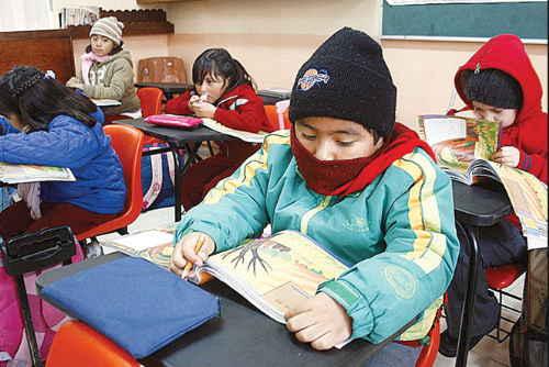 Resultado de imagen de educación determina que horario de invierno