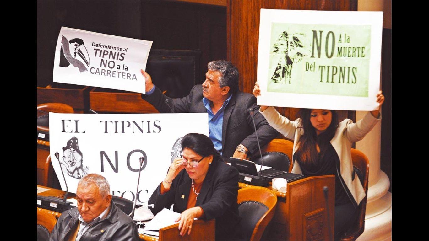 Cámara de Senadores instalan sesión para tratar el nuevo proyecto del Tipnis