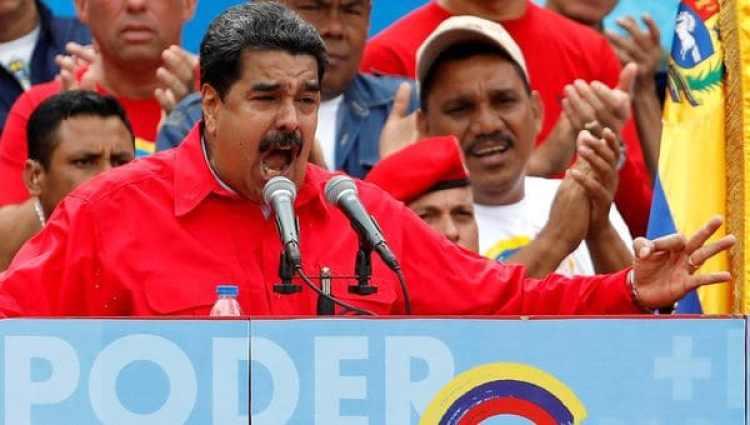 Nicolás Maduroinsultó a Mauricio Macri en más de una oportunidad por sus denuncias contra el régimen chavista (Reuters)