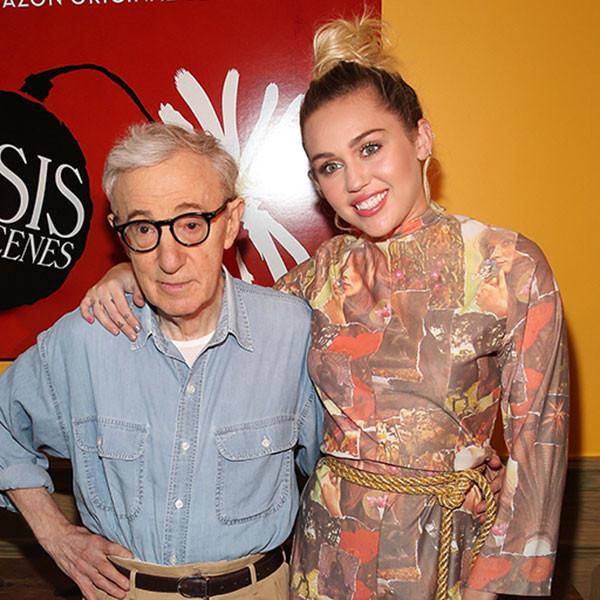 Woody Allen, Miley Cyrus