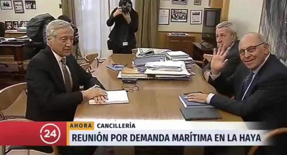 Chile entregará su duplica antes del 21 de septiembre — Demanda marítima