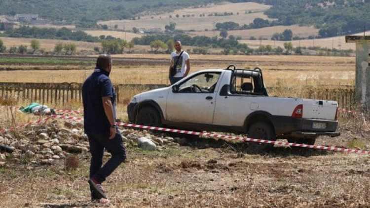 El auto de los campesinos inocentes asesinados (RAI)