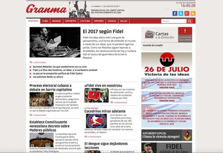 La disolución de los límites entre el reportaje y la opinión, entre el periodismo y el activismo, o entre el periodismo y la propaganda es frecuente en la prensa cubana.