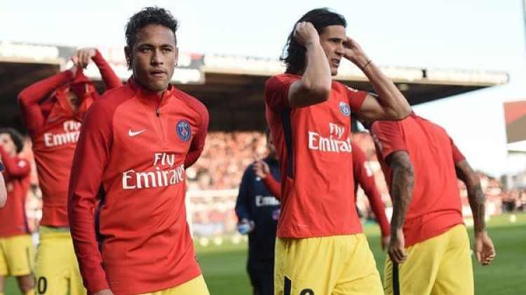 "Neymar destacó a Cavani: ""Es un crack"" (AFP)"