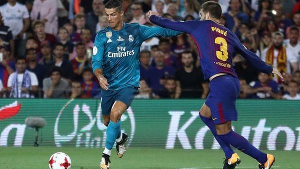 La polémica frase de Cristiano Ronaldo contra el Barcelona tras ser expulsado [VIDEO]