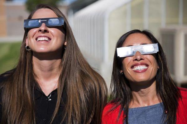 'Harvey' podría arruinar el eclipse solar