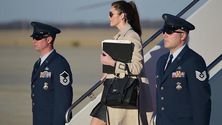 FOTOS: Una exmodelo de 28 años, nueva directora de comunicaciones de la Casa Blanca