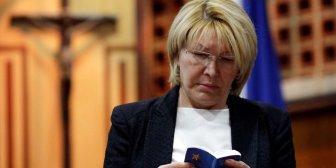 Fiscal Ortega Díaz estaría en comunicación con alto gobierno EEUU: Chavistas negocian salida