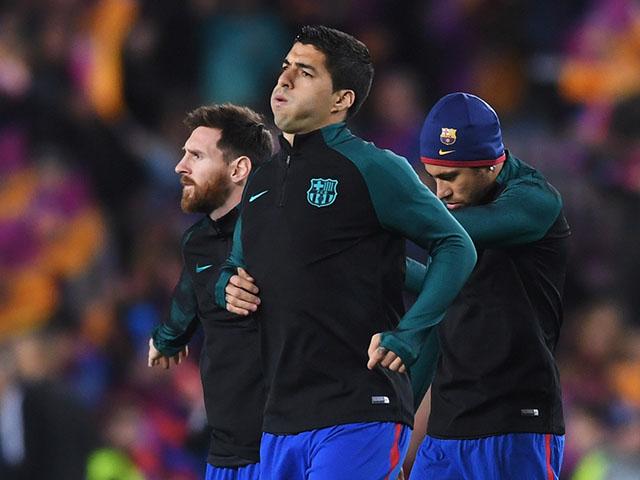 La divertida reacción de Suárez y Neymar a la publicación de Messi