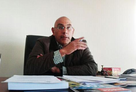 El presidente de la Cámara Nacional de Industria, Horacio Villegas, en entrevista con La Razón.