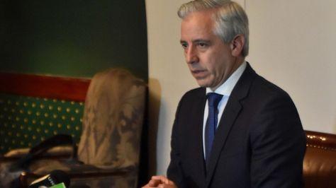 Conferencia de prensa del vicepresidente Álvaro García Linera.