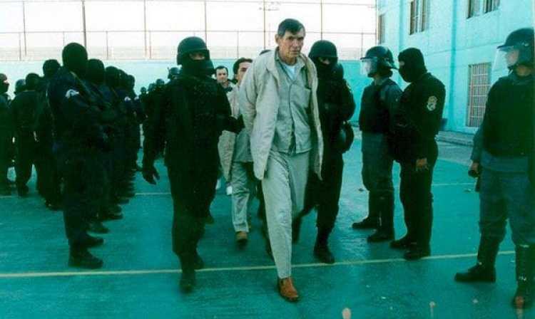 Félix Gallardo, acusado del asesinato del exagente de la DEA, Enrique Camarena Salazar. (Foto: proceso.com.mx)