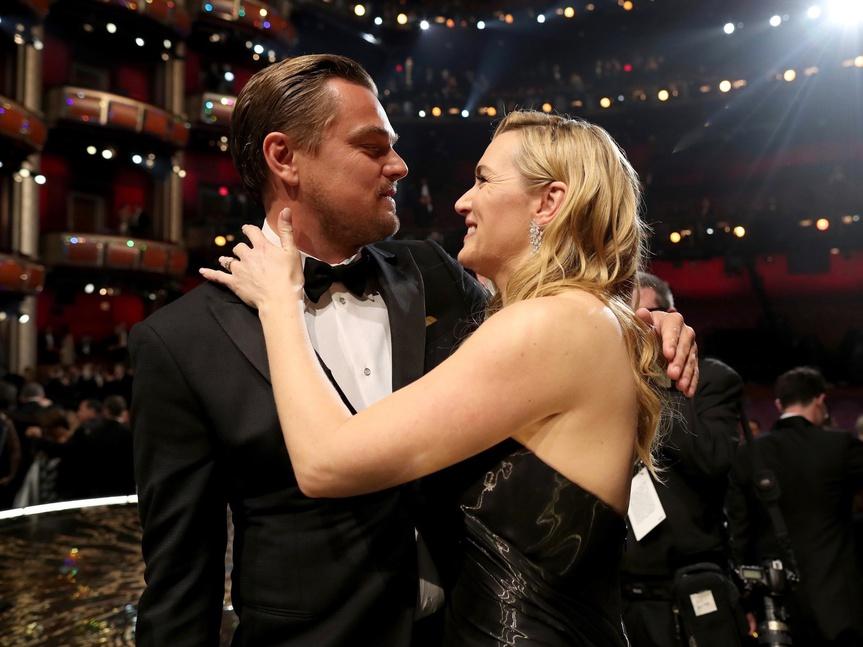 Leonardo Di Caprio Kate Winslet