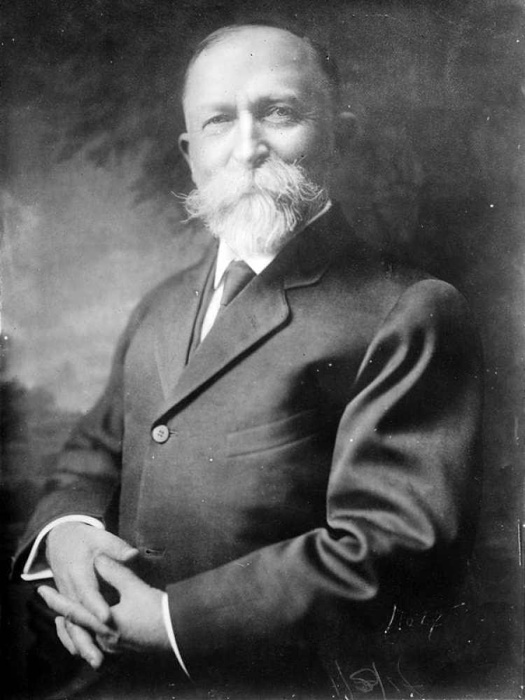 John Harvey Kellogg litigó contra su hermano durante una década. (Foto: Wikipedia)