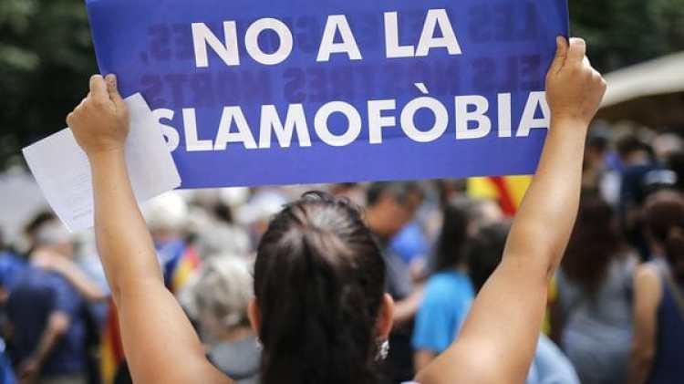 """""""No a la islamofobia"""" (AFP)"""