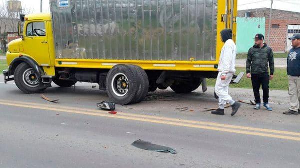 Hermano de Lionel Messi chocó contra un camión en Argentina