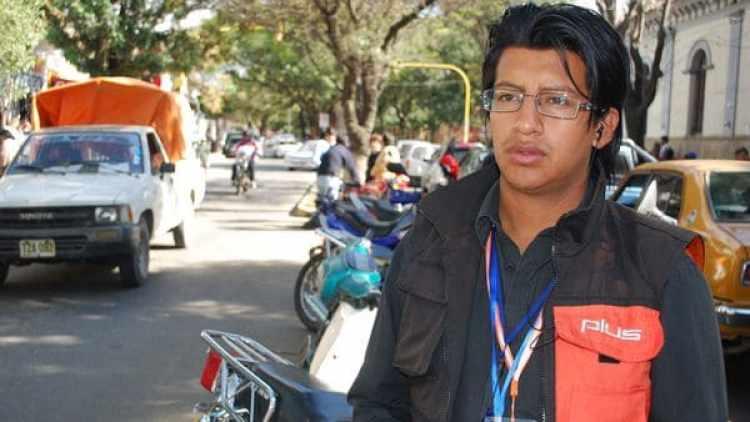 Cristian Mariscal, el periodista desaparecido en Bolivia