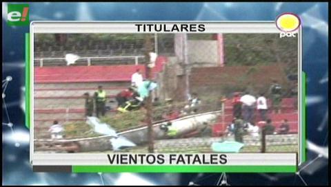 Video titulares de noticias de TV – Bolivia, mediodía del sábado 12 de agosto de 2017