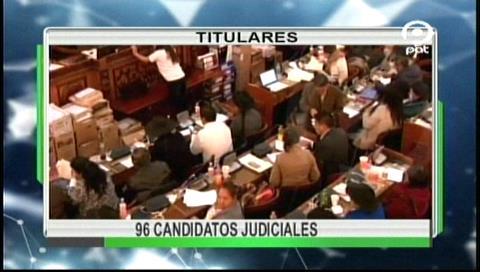 Video titulares de noticias de TV – Bolivia, noche del jueves 31 de agosto de 2017