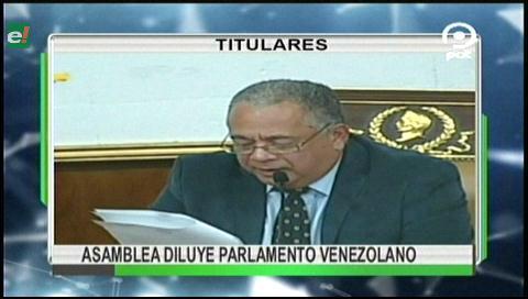 Video titulares de noticias de TV – Bolivia, noche del viernes 18 de agosto de 2017