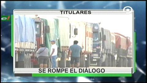 Video titulares de noticias de TV – Bolivia, noche del viernes 25 de agosto de 2017
