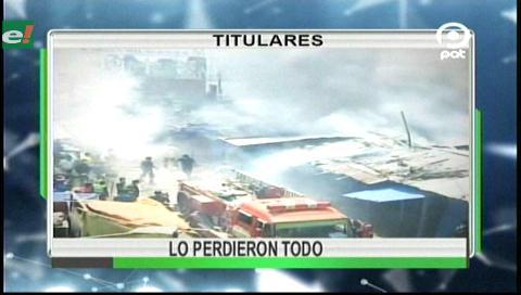 Video titulares de noticias de TV – Bolivia, noche del miércoles 30 de agosto de 2017