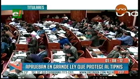 Video titulares de noticias de TV – Bolivia, mediodía del martes 1 de agosto de 2017