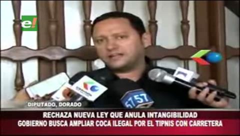 TIPNIS: Diputado Dorado rechaza ley que anula intangibilidad