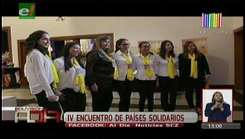 IV Encuentro de Países Solidarios en apoyo la lucha contra el cáncer del Oncológico cruceño