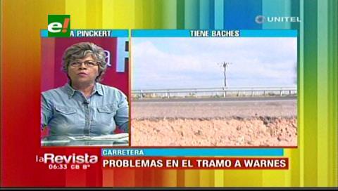 Senadora Pinckert denuncia incumplimiento de la ABC en la vía Santa Cruz – Warnes