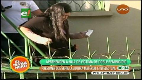 Cochabamba: Cae la hija de una de las hermanas asesinadas el 27 de julio