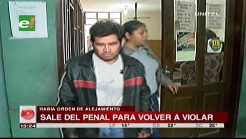 Estaba detenido por violación: Sujeto sale de Palmasola y abusa por segunda vez a su víctima