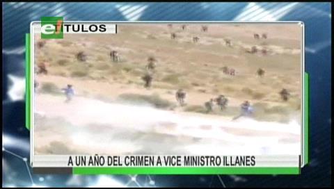 Video titulares de noticias de TV – Bolivia, mediodía del viernes 25 de agosto de 2017