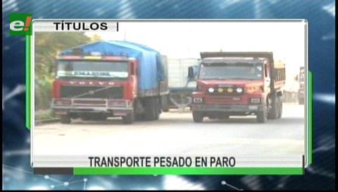 Video titulares de noticias de TV – Bolivia, mediodía del miércoles 30 de agosto de 2017