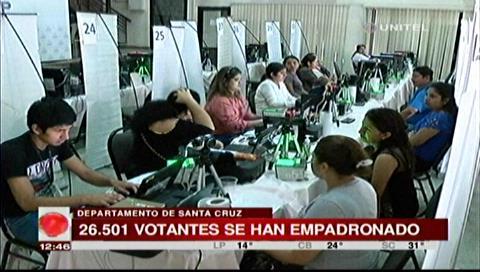 En Santa Cruz se han inscrito 26.501 nuevos votantes para las elecciones
