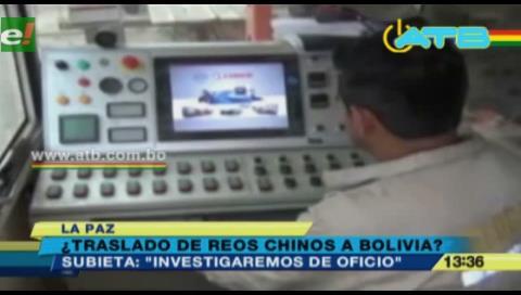 Fiscalía investigará de oficio el supuesto traslado de reos chinos a Bolivia