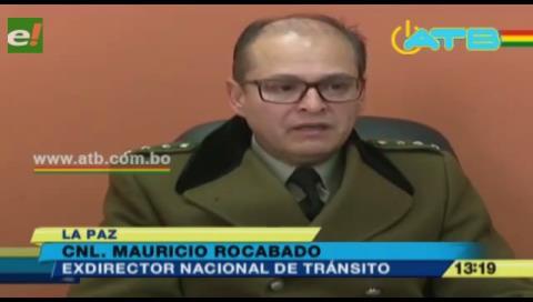 Destituyen a director de Tránsito, acusado de complot contra el Comandante de la Policía