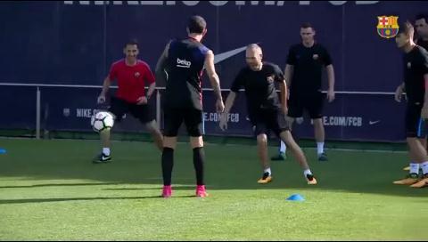 Andrés Iniesta se recuperó y jugará contra Alavés