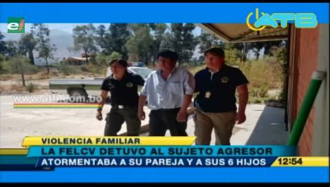 FELCV aprehendió a un sujeto que maltrataba a su pareja e hijos