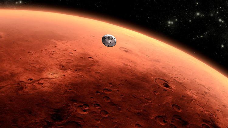 Voluntarios de la NASA encuentran 'arañas' marcianas