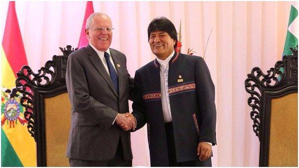 Gabinete Binacional: PPK y Evo Morales sostienen reunión bilateral en Cancillería